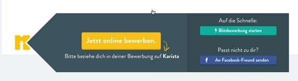 karista - Online-Bewerbung
