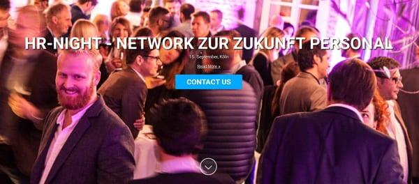 HR-NIGHT - Networking zur Zukunft Personal 2015
