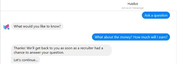 Mal eben den Recruiter fragen...