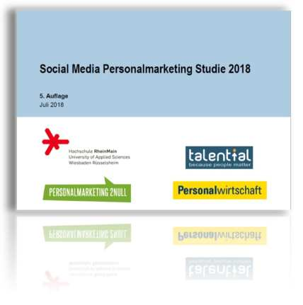 Social Media Personalmarketing Studie 2018