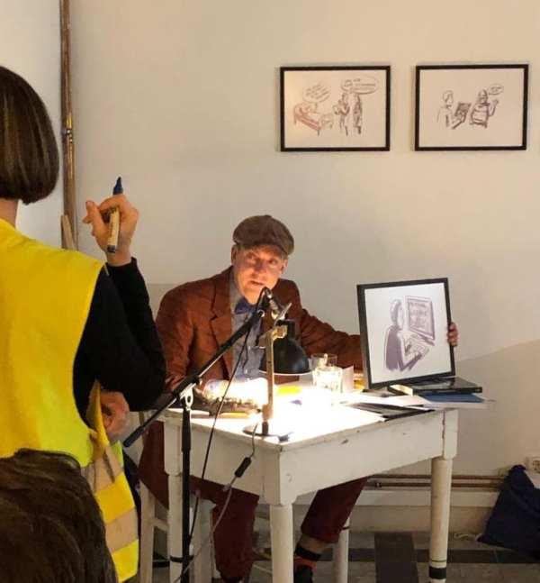 Mr. HR-Artist macht sich gut als Auktionator