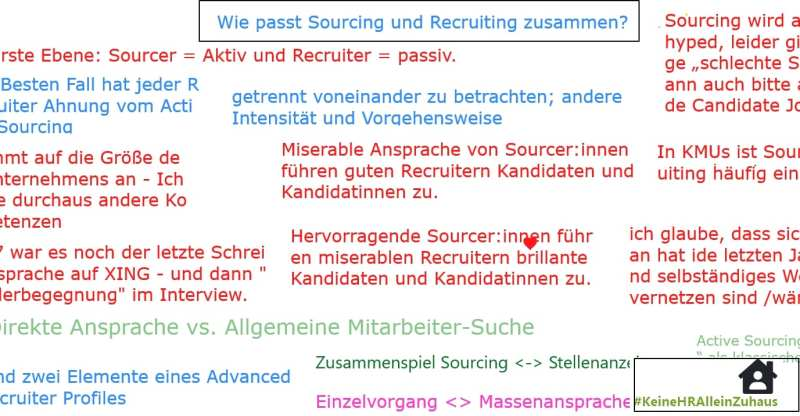 Wie passt Sourcing und Recruiting zusammen - KeineHRAlleinZuhaus