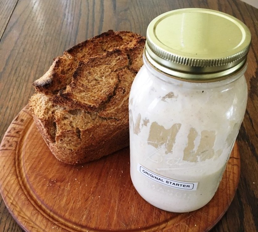 You may remember that I've written about what I learned from my new kitten. Rosie Mittens has grown up beautifully. Now I'd like to share some life lessons from another living thing in my house: my sourdough starter! These, too, inform both my personal life and my professional life as a financial organizer / daily money manager.