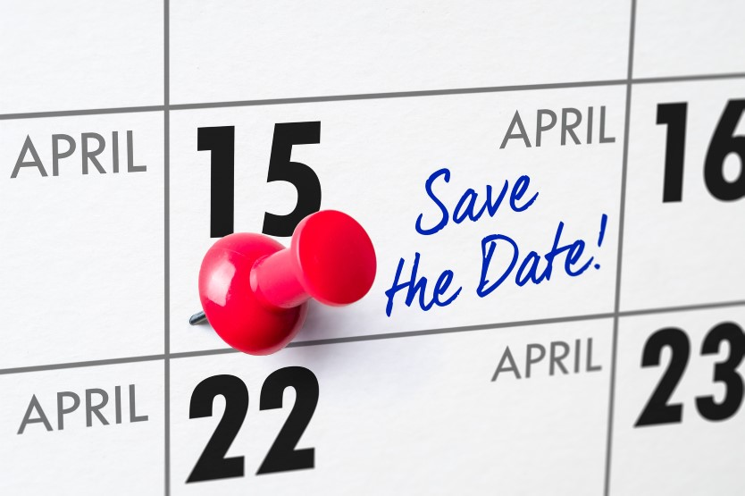 April 15th is the Usual Tax Return Deadline -- but not in 2020!