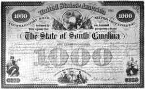This is what a (state issued) bond looks like