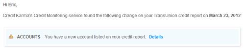 credit karma monitoring