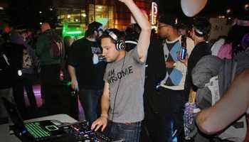 DJ Yofi at Denver Cruisers Aliens of Death