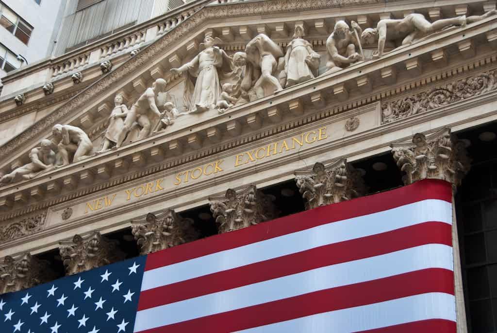 New York Stock Exchange Wall Street