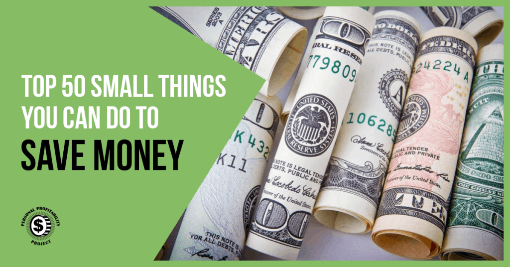 Top 50 Ways to Save Money- PersonalProfitability.com