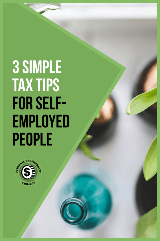 Tax tips for self-employed and indepedent contractors- PersonalProfitability.com