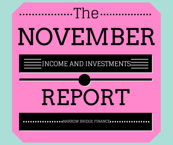 November Earnings and Investments Update