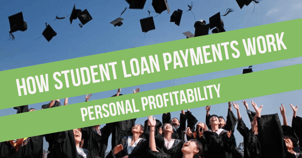 How Student Loan Payments Work- PersonalProfitabiity.com