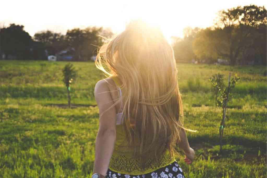 Girl in the Sun Outside PersonalProfitability.com