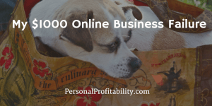 My $1000 Online Business Failure – The Reusable Bag Store - PersonalProfitability.com