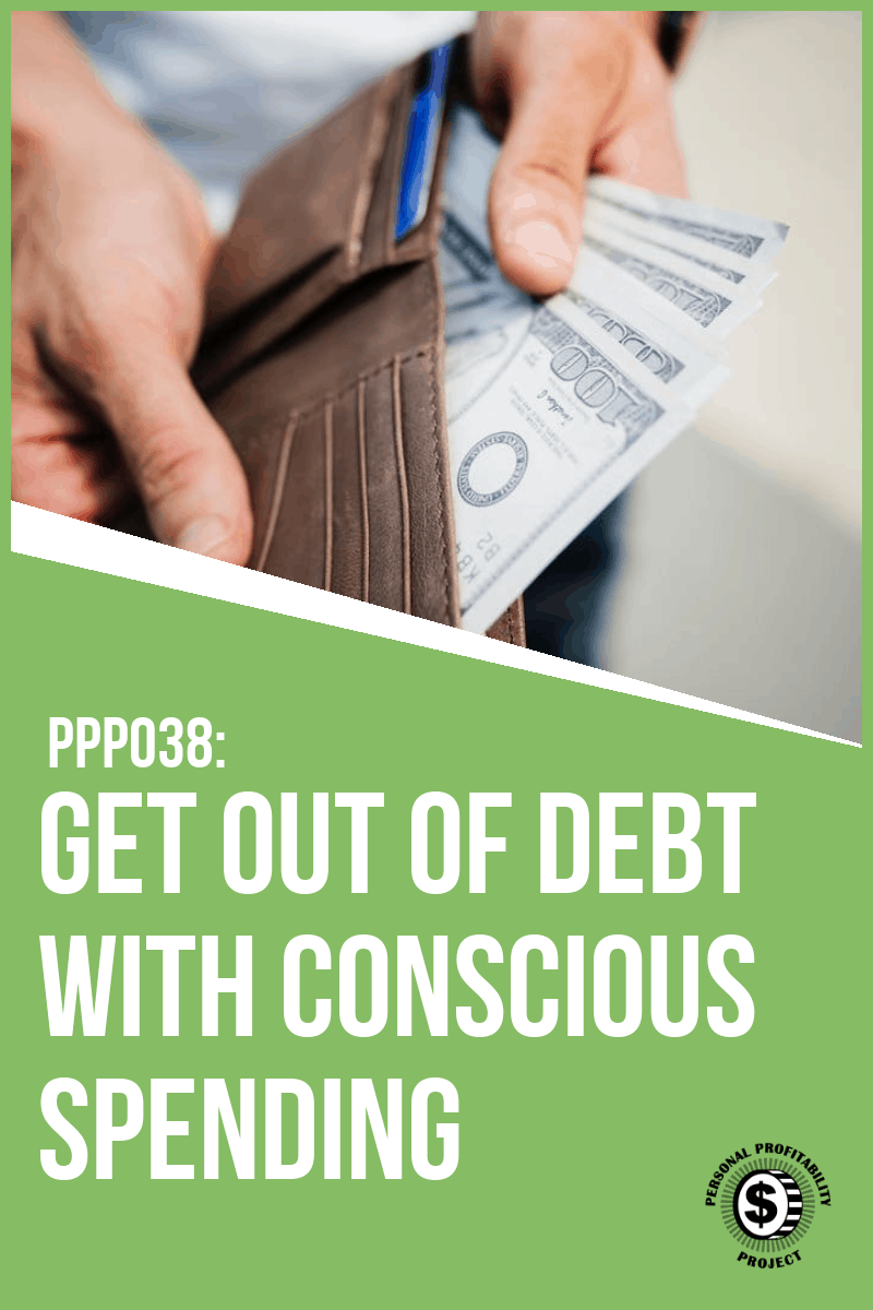 Getting out of debt starts with mindful spending. Are you conscious of where your hard earned money goes? Take the money challenge and get on track to reach your financial goals! #debtfree #budgeting