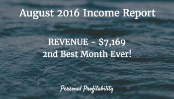August 2016 Income Report - PersonalProfitability.com