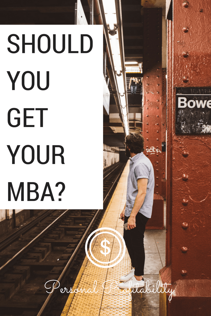 Should you get your MBA? I got my MBA and it has been hugely beneficial to my career, but today George Diaz digs into the numbers to help you decide for yourself.