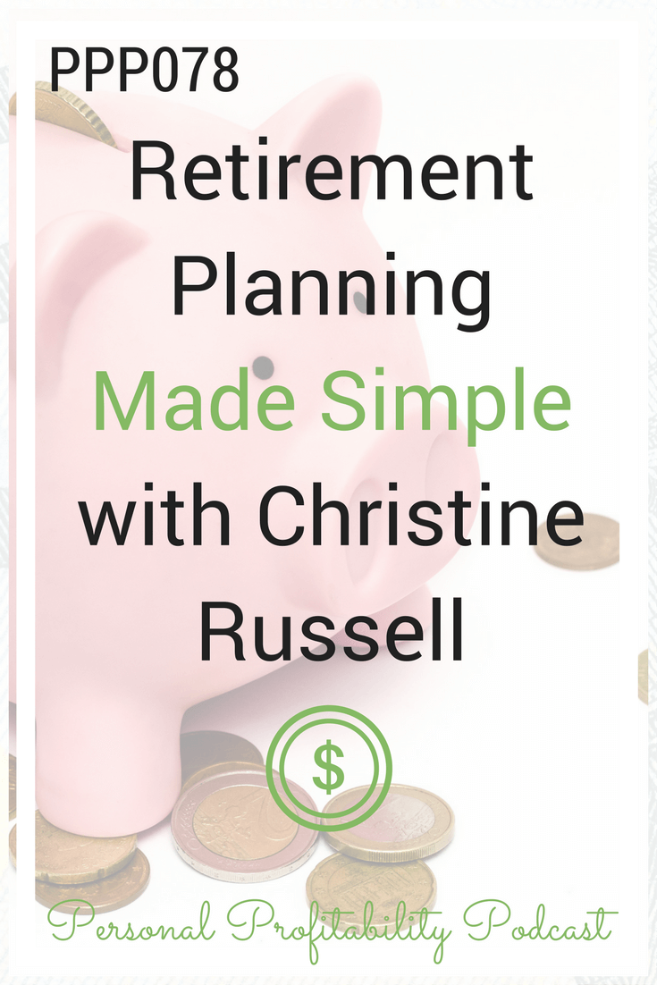 Senior Manager of Retirement and Annuities at TD Ameritrade, and today we are here to talk all things retirement savings and planning. Listen instantly! #retirement #retirementplanning #entrepreneur #personalprofitability