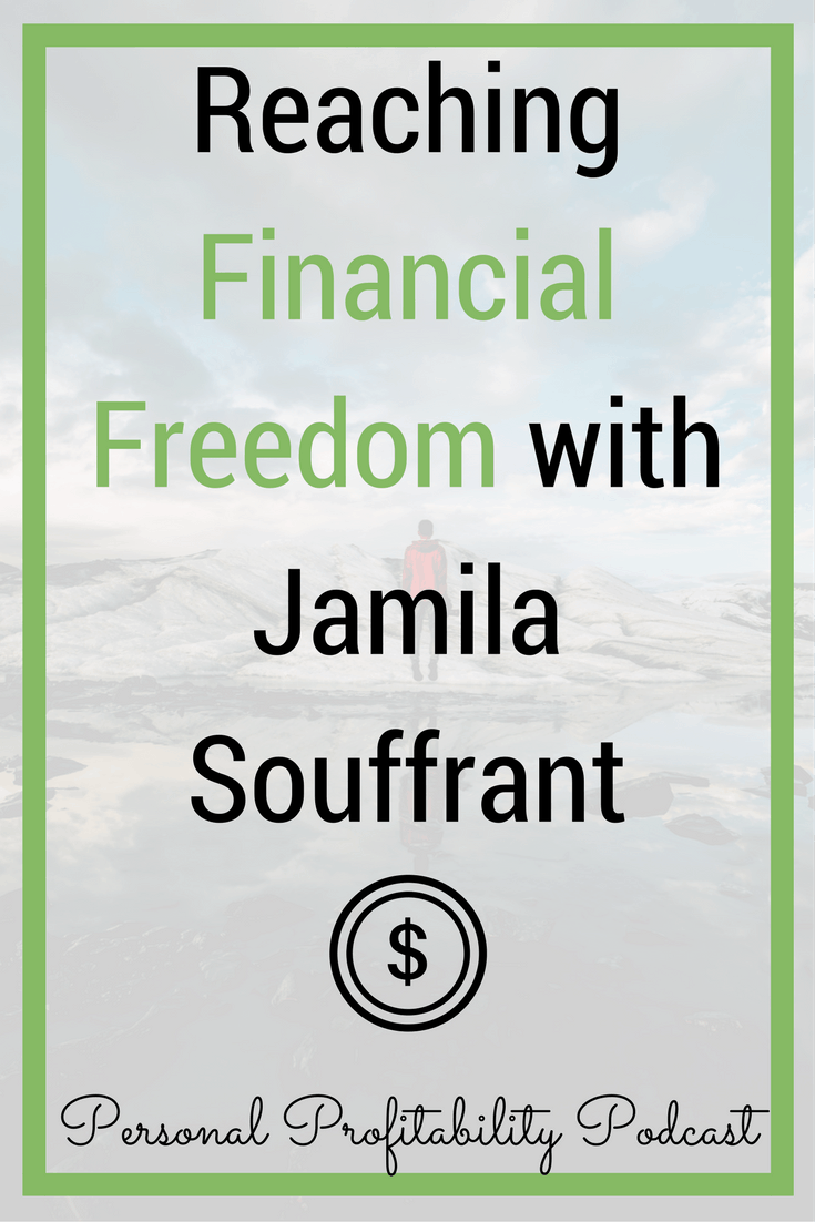 In this episode, we're talking with Jamila Souffrant, founder of JourneyToLaunch.com, a site dedicated to helping people reach financial freedom. #personalfinance #payoffdebt #debtfree #personalprofitability