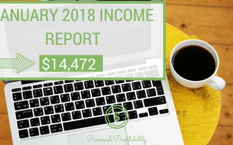 Personal Profitability Income Report January 2018