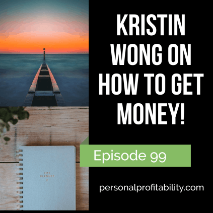 Have you ever read an article by Kristin Wong? You probably have, you just don't know it! Kristin is a popular personal finance writer and has written for Lifehacker and the New York Times. In this episode, we'll chat about her new book, personal finance, and more.