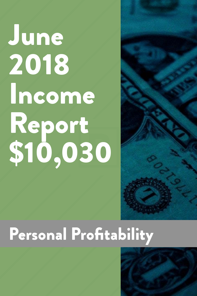 June 2018 Income Report