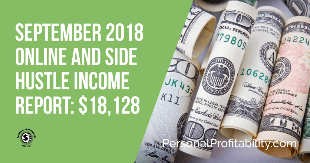 Check out how I made over $18,000 in my September 2018 income report! I'll break down the different ways I earn money with my online businesses!