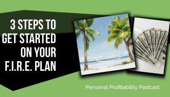 Sean Merron talks to us about being financially independent and retiring early in his 30s! He gives us some great tips on starting your own FIRE plan!