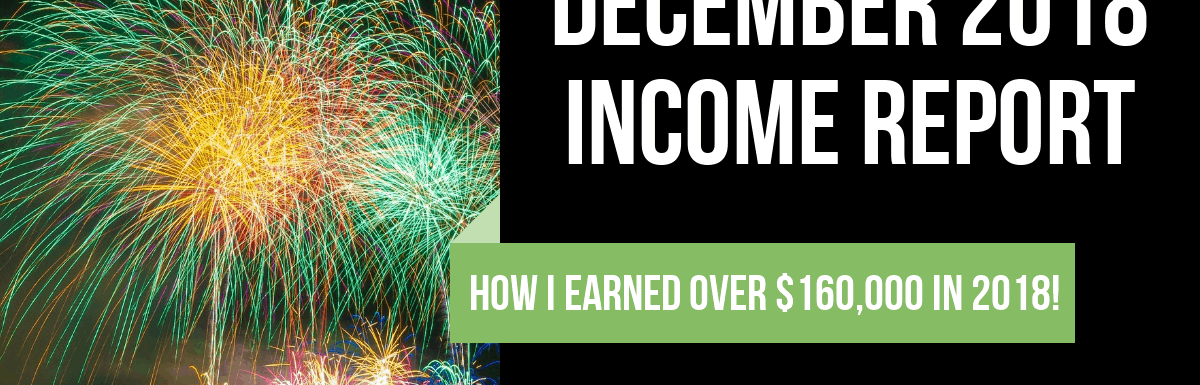December 2018 Online and Side Hustle Income Report