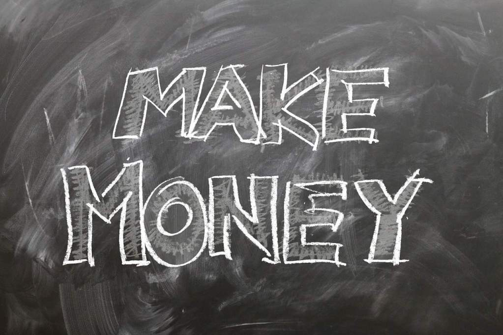 Make Money Board- Image by Gerd Altmann from Pixabay -PersonalProfitability.com