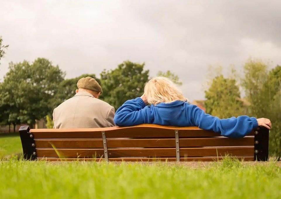 Older couple in Retirement