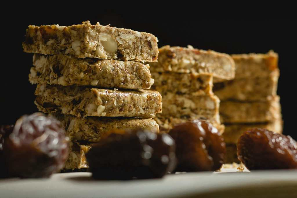 Almond Butter Protein Squares