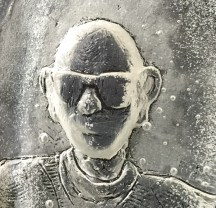 Chris Poulton, Self Portrait with Glasses - LG
