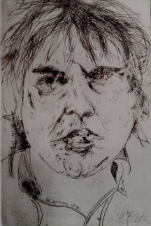 Slawomir Blatton, Me as young artist - LG