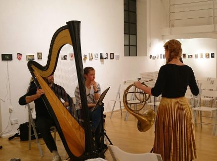 Vibration Exploration, recital by The Collective