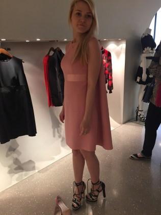 шоппинг со стилистом. boutique Alexander McQueen.