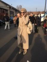 Ксения Собчак на Миланской неделе моды.