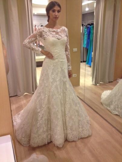 покупаем свадебное платье в Милане