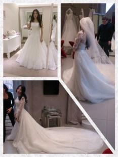 свадебное платье из Милана