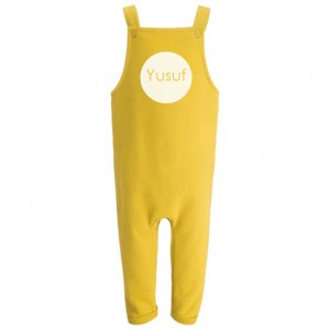 personalised dungarees
