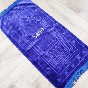 personalised childrens prayer mat