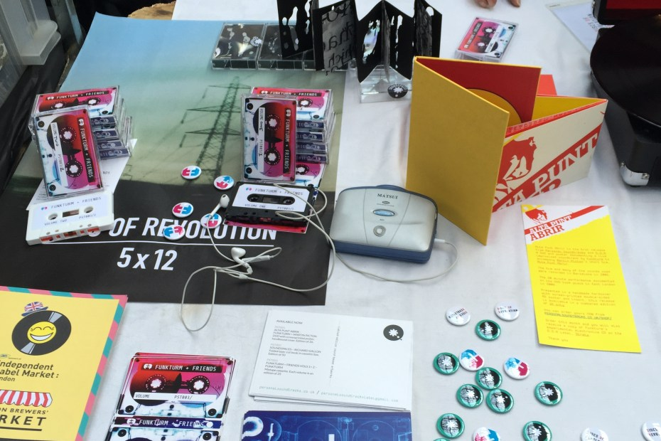 Personal Soundtracks at the Independent Label Market