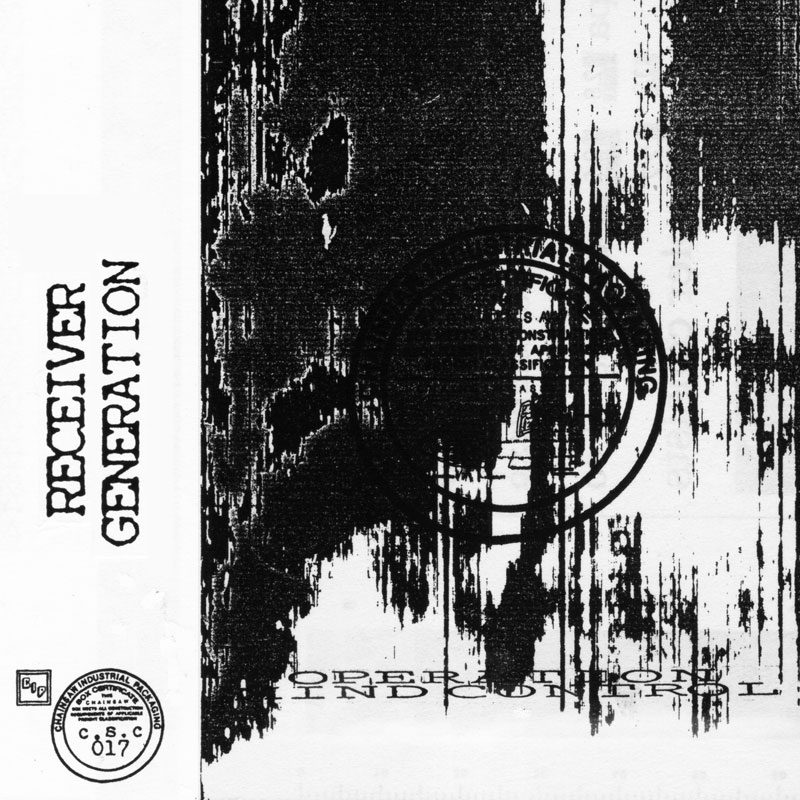 Operation Mind Control – Receiver Generation cassette cover
