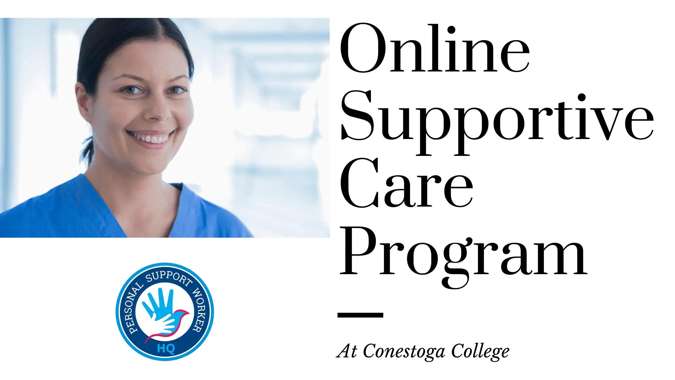 Free Online Supportive Care Program at Conestoga College