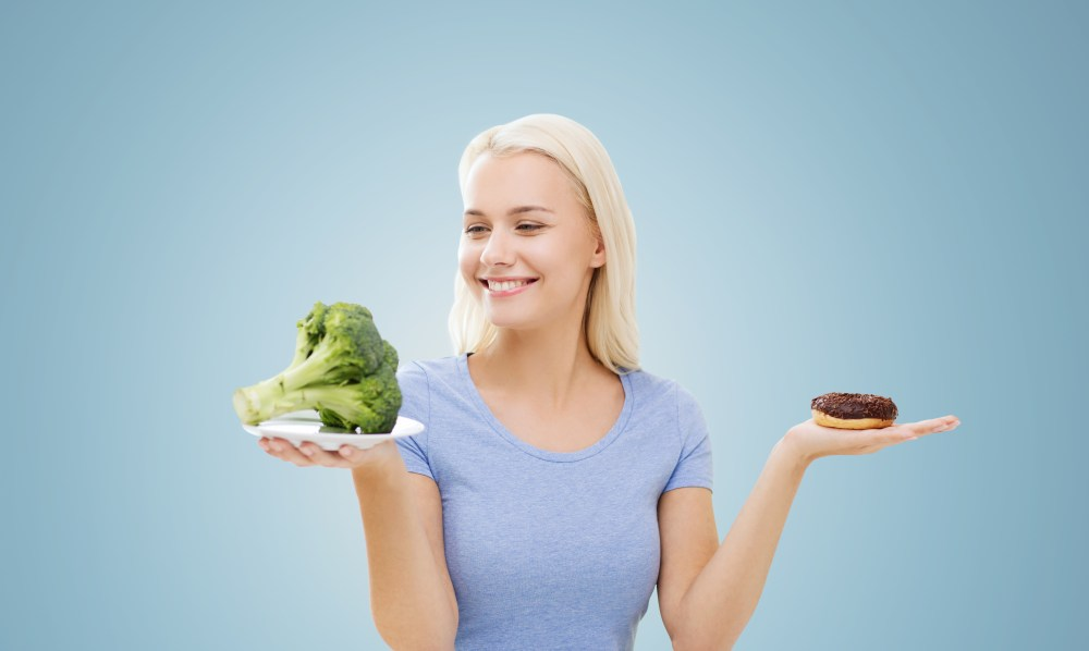 When you crave broccoli more than junk food, you know that you have turned a corner.