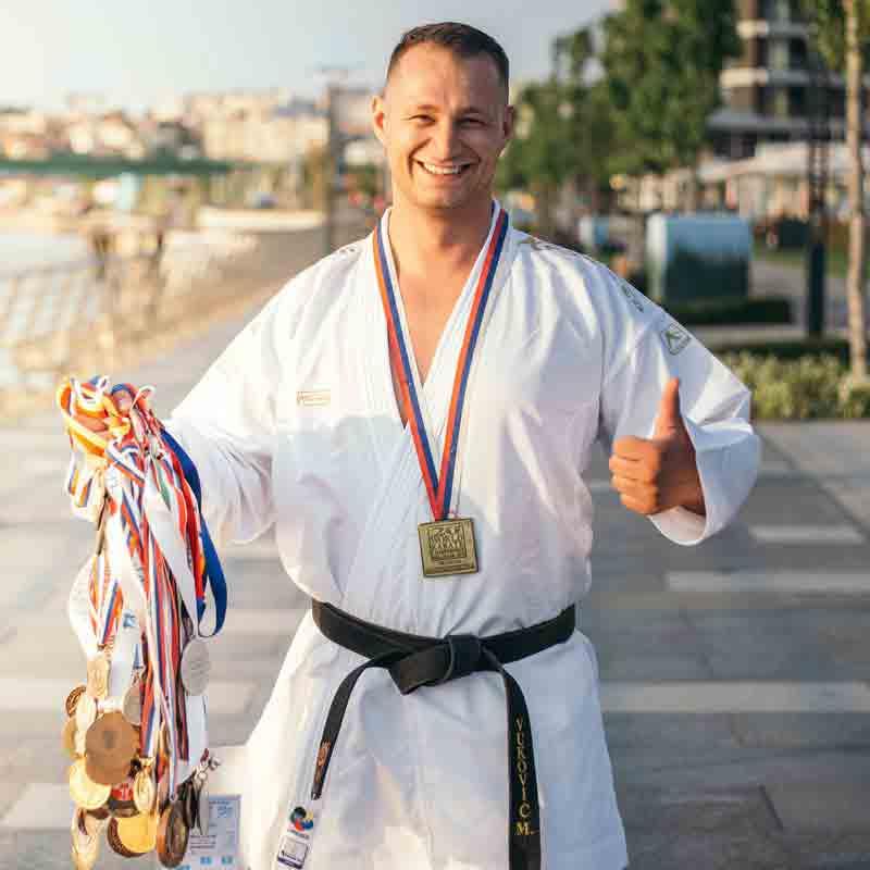 Personal Trainer Dubai Head Coach Milos Vukovic