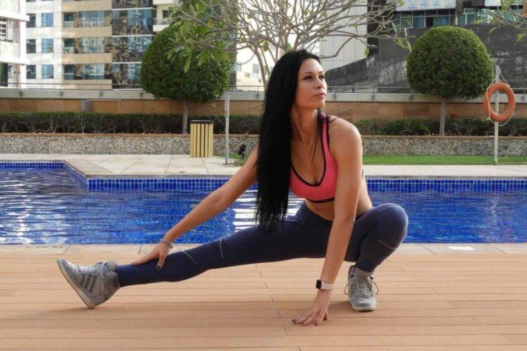Female Head Coach Tea - Personal Trainer Dubai