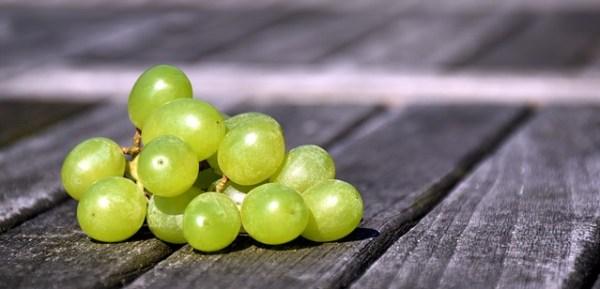 Gegrilde zalm met asperges en druivensalsa
