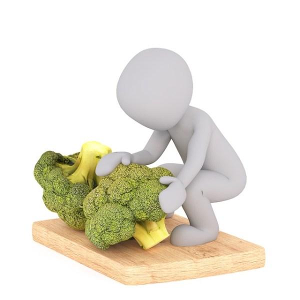 Broccoli met kabeljauw en papillote