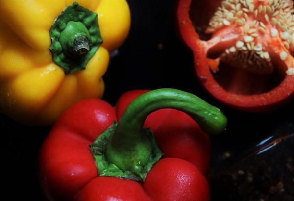 Couscous met paprika en za'atar